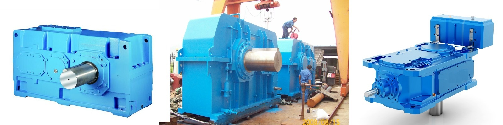 Helical Gearbox and Reducer, Helical Reduction Gearbox Manufacturer